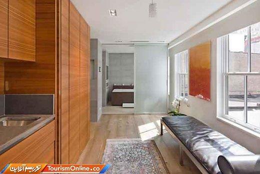 سه سال بعد پنت هاوس مجاور را در ترایبکا خریداری کرد تا با پنت هاوس قبلی تبدیل به یک آپارتمان بزرگ کند