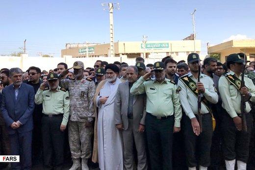 تشییع شهدای حادثه تروریستی چابهار