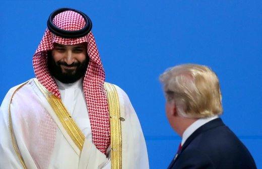دیدار دونالد ترامپ، رئیسجمهور آمریکا و محمد بن سلمان ولیعهد عربستان سعودی در جریان نشست جی 20 در شهر بوئنوسآیرس، پایتخت آرژانتین