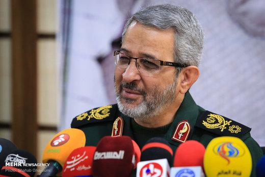 سردار غیبپرور:سردمداران زورگوی آمریکا از اینکه ایران به طرفشان نمیرود زنجیر میجوند