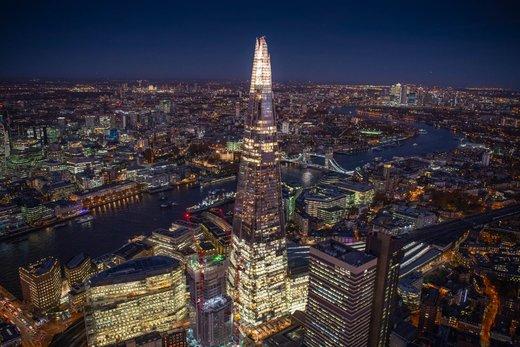 لندن در شب