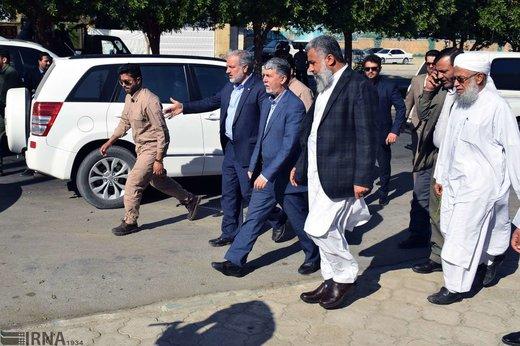 بازدید وزیر فرهنگ و ارشاد از محل و مصدومین حادثه تروریستی چابهار
