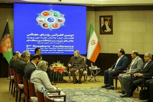 لاریجانی خطاب به همتای افغان:تروریسم و مواد مخدر دو لبه یک قیچی هستند