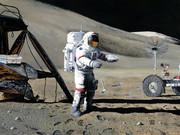 داستان آزمایش سقوط چکش و پَر در ماموریت آپولو ۱۵