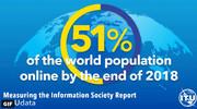 نیمی از مردم جهان آنلاین هستند