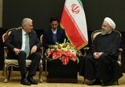 Rouhani praises Turkey's positions against US sanctions