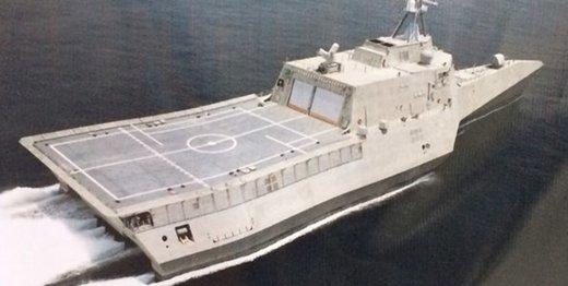 عکس | متفاوتترین ناوشکن ایران در دستور کار نیروی دریایی ارتش