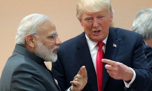 ترامپ در آستانه سفر به هند