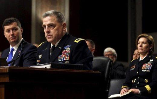 رئیس جدید ستاد مشترک ارتش آمریکا معرفی شد