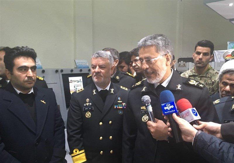 تماس تصویری دریادار سیاری با ناوگروه ۵۸ نداجا در خلیج عدن