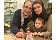 عکس | کیک تولد دو سالگی دخترِ بازیگر سریال «پایتخت»