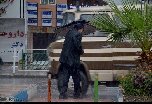 میانگین بارندگی در لرستان به ۳۲۱ میلی متر رسید
