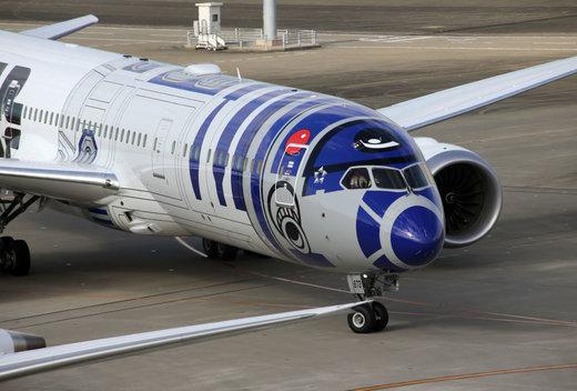 هواپیمایی متعلق به شرکت هواپیمایی آل نیپون ایرویز ژاپن