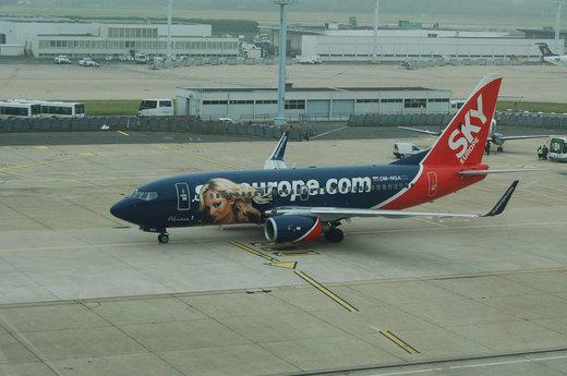هواپیمایی از خطوط هوایی SkyEurope