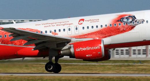 هواپیمای متعلق به ایر برلین