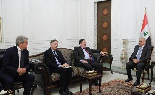 تعهد ۳ کشور اروپایی به عراق درباره ایران