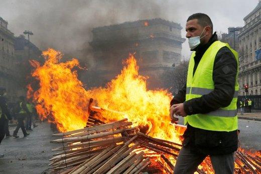 احتمال دست داشتن روسیه در اعتراضات فرانسه