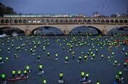 عکس | وقتی جلیقه زردها به رودخانه سن رسیدند!