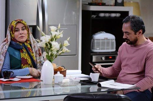 سریالی که با درگذشت پیام صابری همسر زیبا بروفه نیمهتمام ماند/ عکس