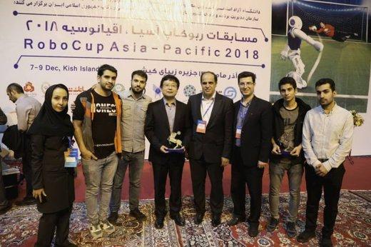 سمای آذربایجان شرقی در مسابقات ربوکاپ آسیاو اقیانوسیه دوم شد