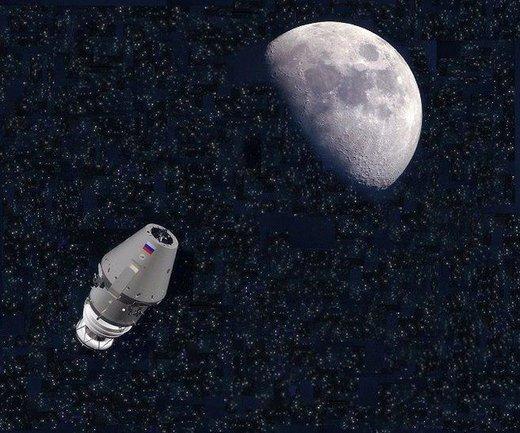 وعده روسکاسموس برای پرواز ناو بدون سرنشین «فدراتسیا» به مدار ماه