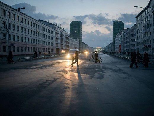 شهر سینوئیجو کره شمالی