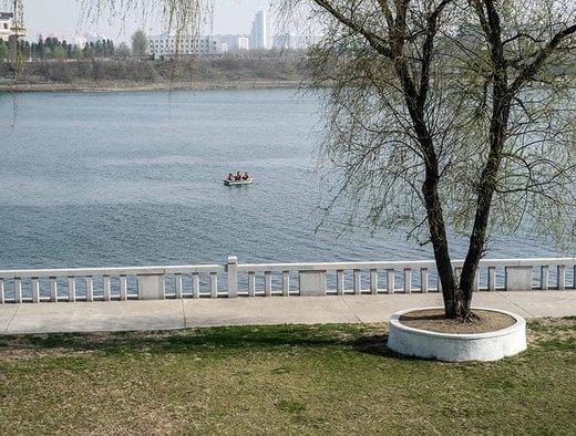 رودخانه Taedong در شهر پیونگیانگ