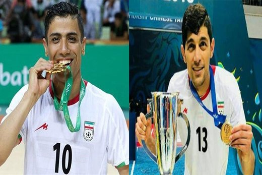 Iran futsal players nominated for best world player