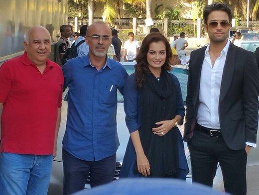 پیام تبریک سینماگر ایرانی برای تولد بازیگر زن هندی/ عکس