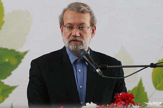 دیدار روسای پژوهشگاه های ملی کشور با علی لاریجانی