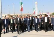بهرهبرداری از ۳ طرح در منطقه ویژه خلیج فارس با حضور جهانگیری