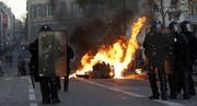 عکس | ستاره آمریکایی سینما در دل تظاهرات پاریس