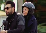 فیلم | احسان خواجه امیری و همسرش در پشت صحنه یک کلیپ جدید