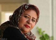عکس | رابعه اسکویی در مراسم تشییع پیکر پیام صابری
