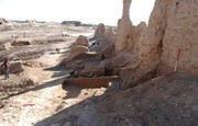 Remains of barracks room discovered in SE Iran