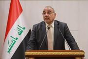 مخالفت نخست وزیر عراق با تحریمهای ایران