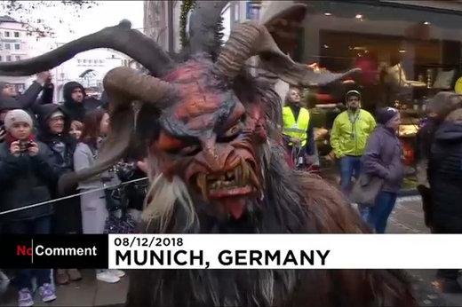 فیلم | پشمالوهای بدترکیب در خیابانهای آلمان