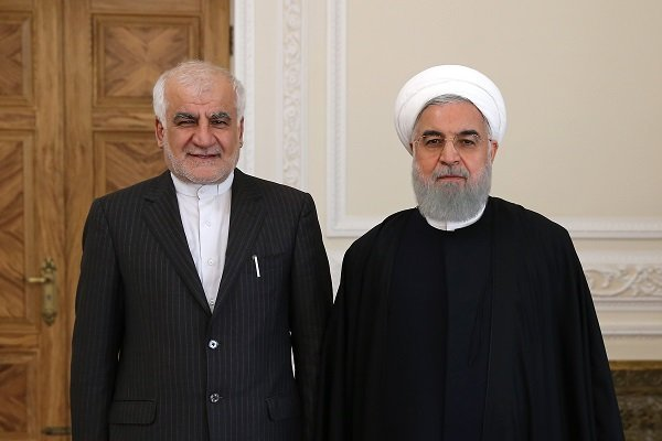 Rouhani says Iran-China relations on right track