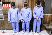 تصاویر | بازداشت ۳سارق مسلح طلافروشی در مشهد