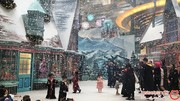 بازسازی دنیای عجیب هری پاتر در فرودگاه چانگی سنگاپور