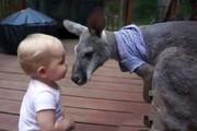 فیلم | همبازی عجیب این کودک در هیچ خانهای پیدا نمیشود!