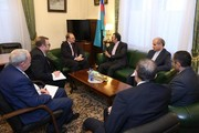 Iran, Russia discuss Middle East developments