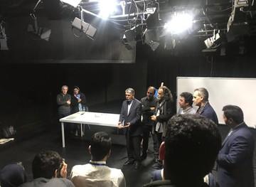 دیدار صالحی با برگزیدگان جشنواره تئاتر استانی