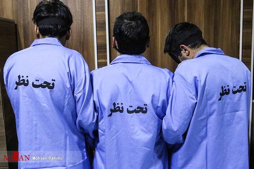 دستگیری سه سارق مسلح طلافروشی در مشهد