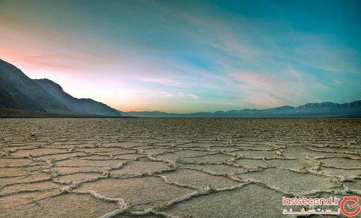 عجیبترین و بزرگترین دریاچهٔ نمک جهان، در مرکز ایران