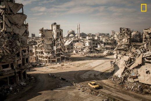 منطقه خالدیه شهر حمص سوریه