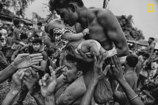 جشنواره ای در ایالت بنگال غربی هند