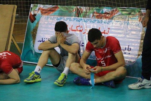 دربی کمتماشاگر ارومیه در لیگ برتر والیبال
