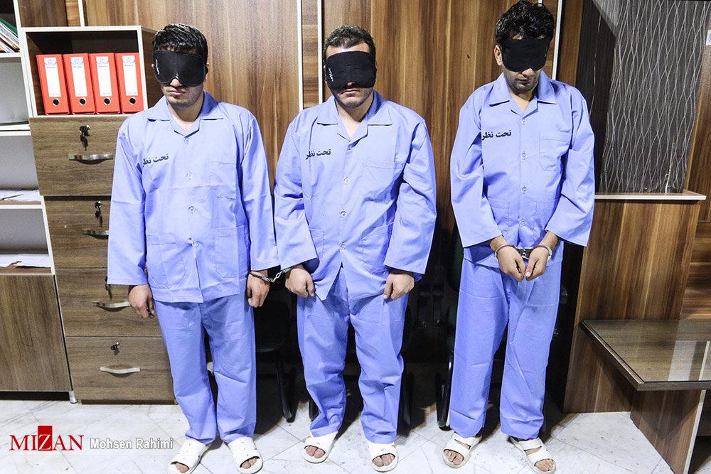 تصاویر | بازداشت ۳ سارق مسلح طلافروشی در مشهد