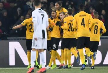شب عجیب لیگ قهرمانان اروپا؛ یوونتوس و منچستر باختند
